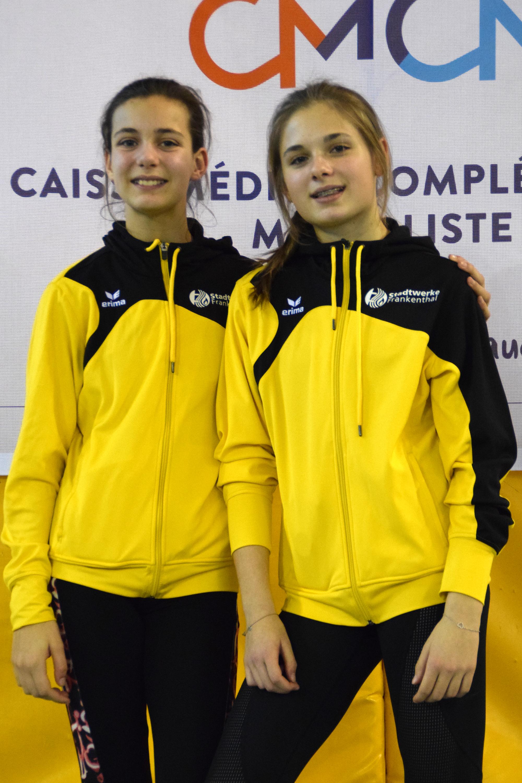 Mia-Sophie Urban und Nina Warschko
